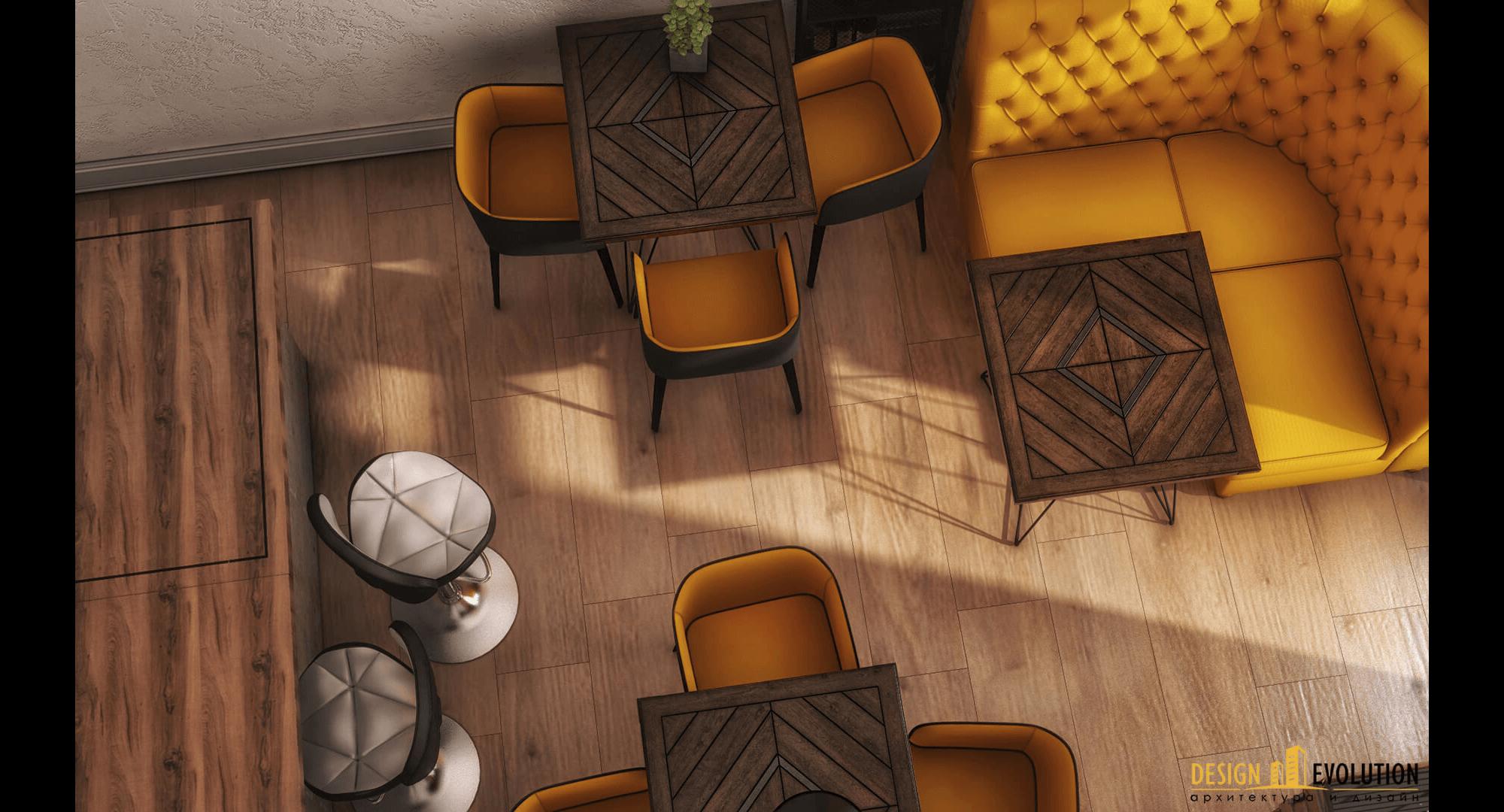 Дизайн интерьера устричной