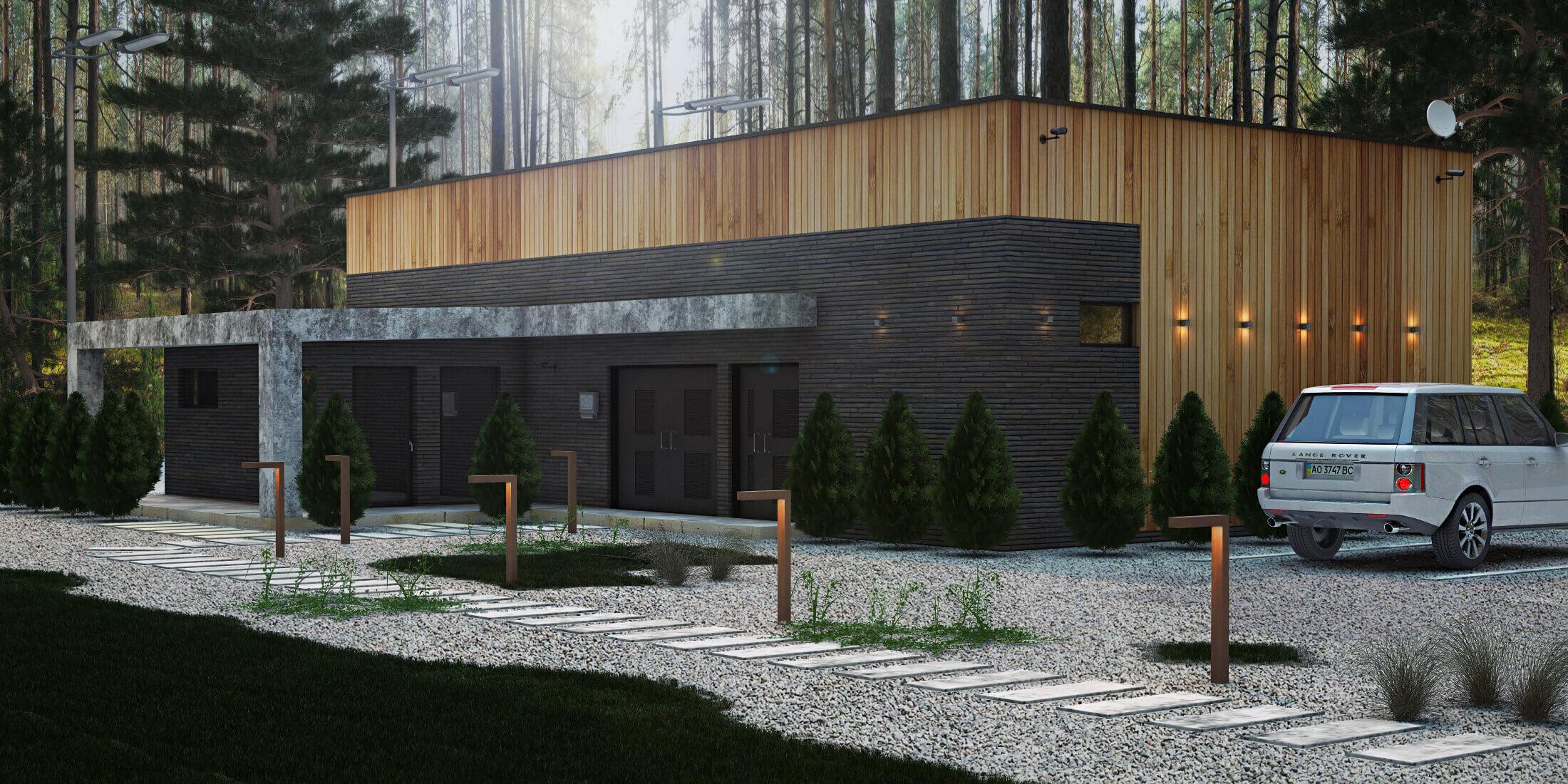 Архитектурный проект гидроэлектростанции