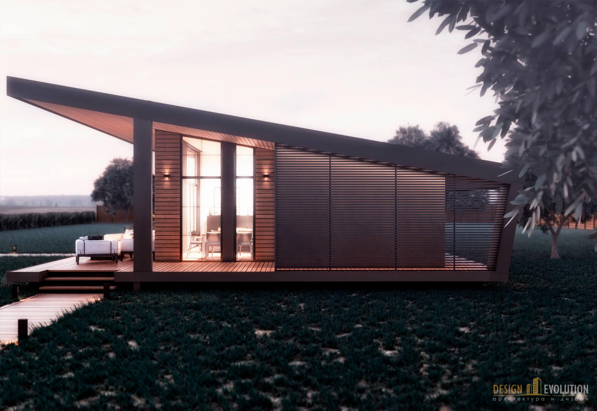 Архитектурный проект - Дом Рыбака в Киеве